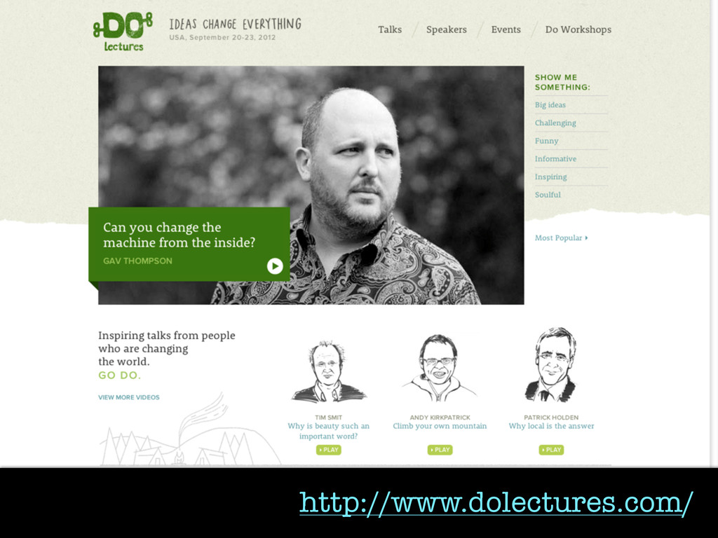 http://www.dolectures.com/