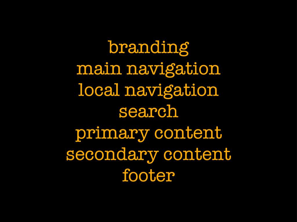branding main navigation local navigation searc...