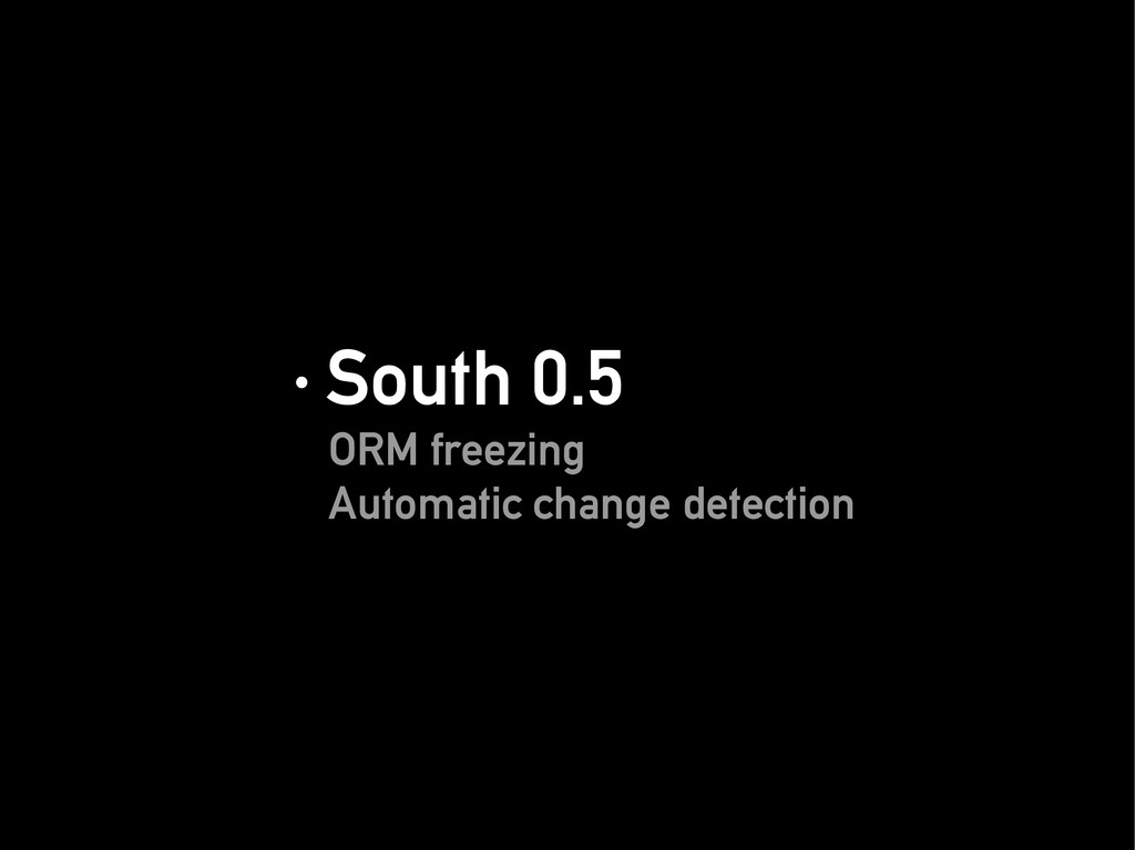· South 0.5 · South 0.5 ORM freezing ORM freezi...