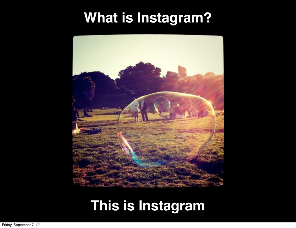 What is Instagram? This is Instagram Friday, Se...