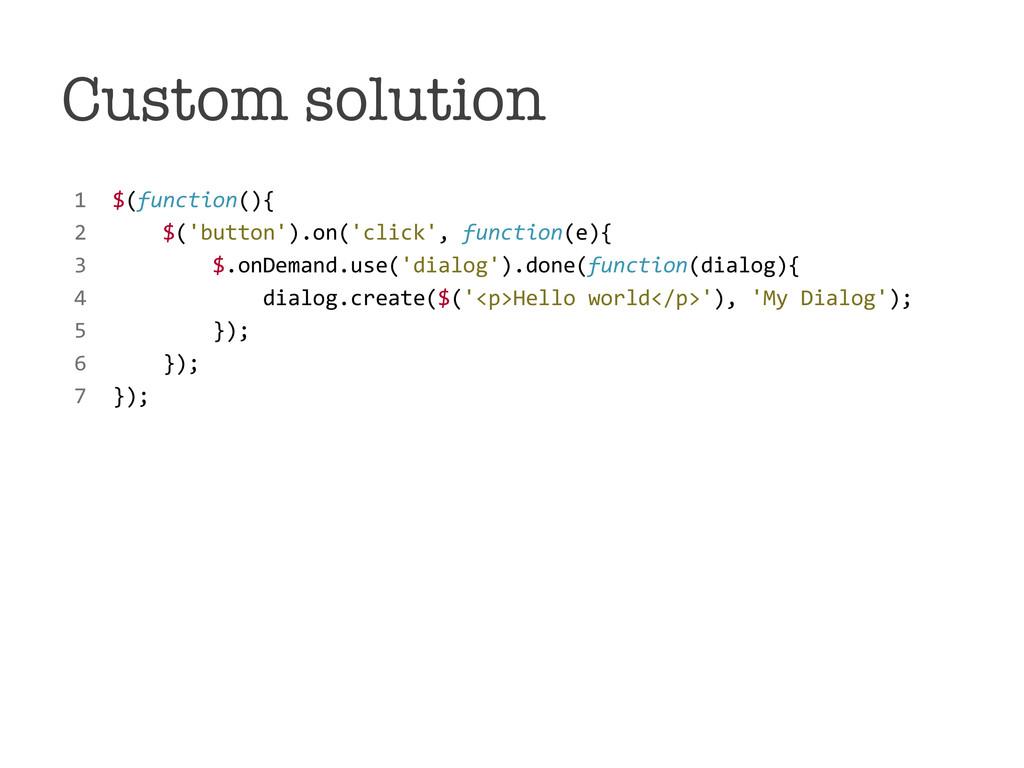 Custom solution !1!!$(function(){! !! !2!!!!!!...