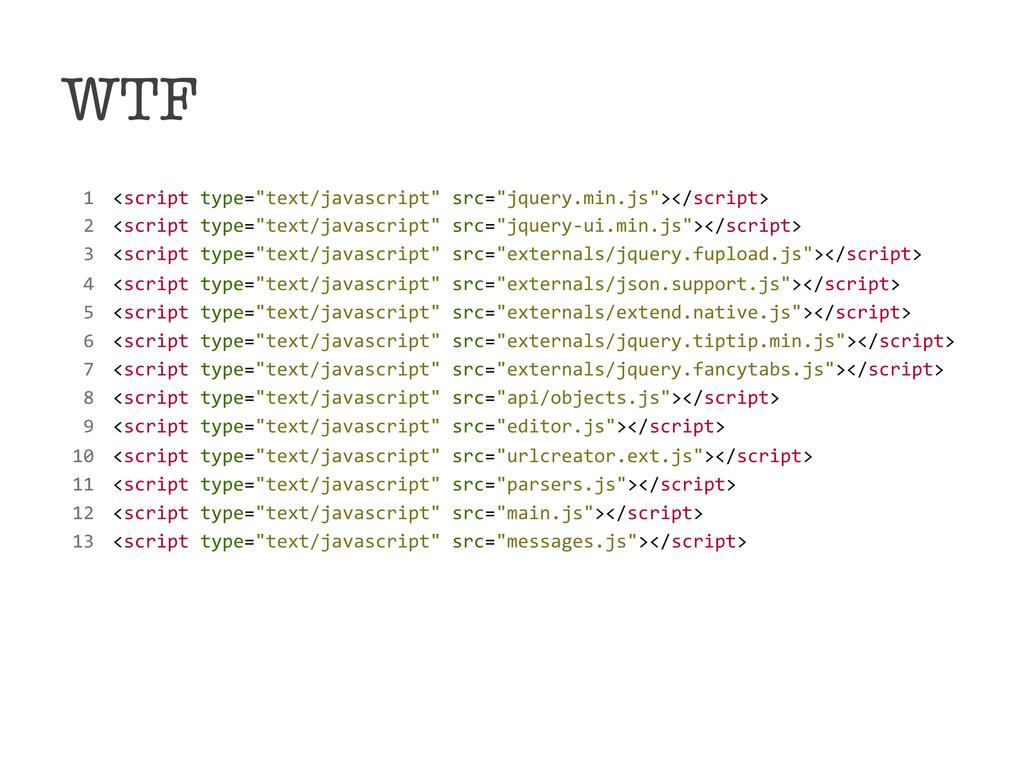 """WTF !!1!!<script!type=""""text/javascript""""!src=""""j..."""