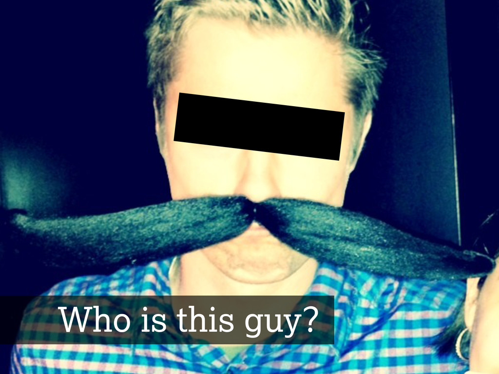 About Me Who is this guy?