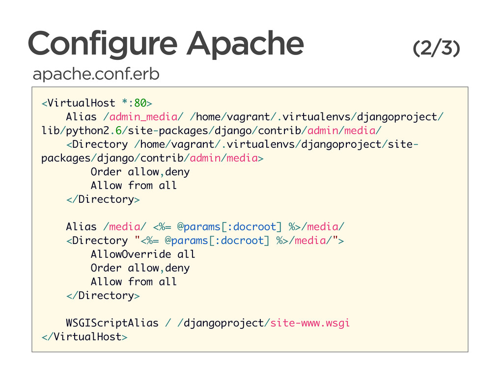 CONNECTED PERSONAL OBJECTS 5/2012 Configure Apa...