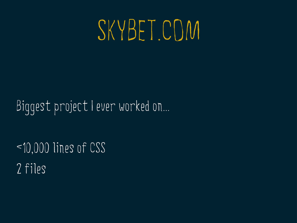 SKYBET.COM Biggest project I ever worked on... ...