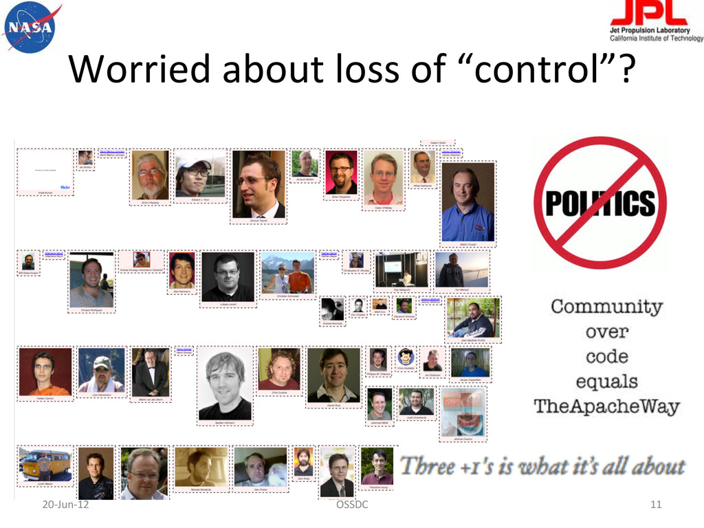 """Worried about loss of """"control""""? ..."""