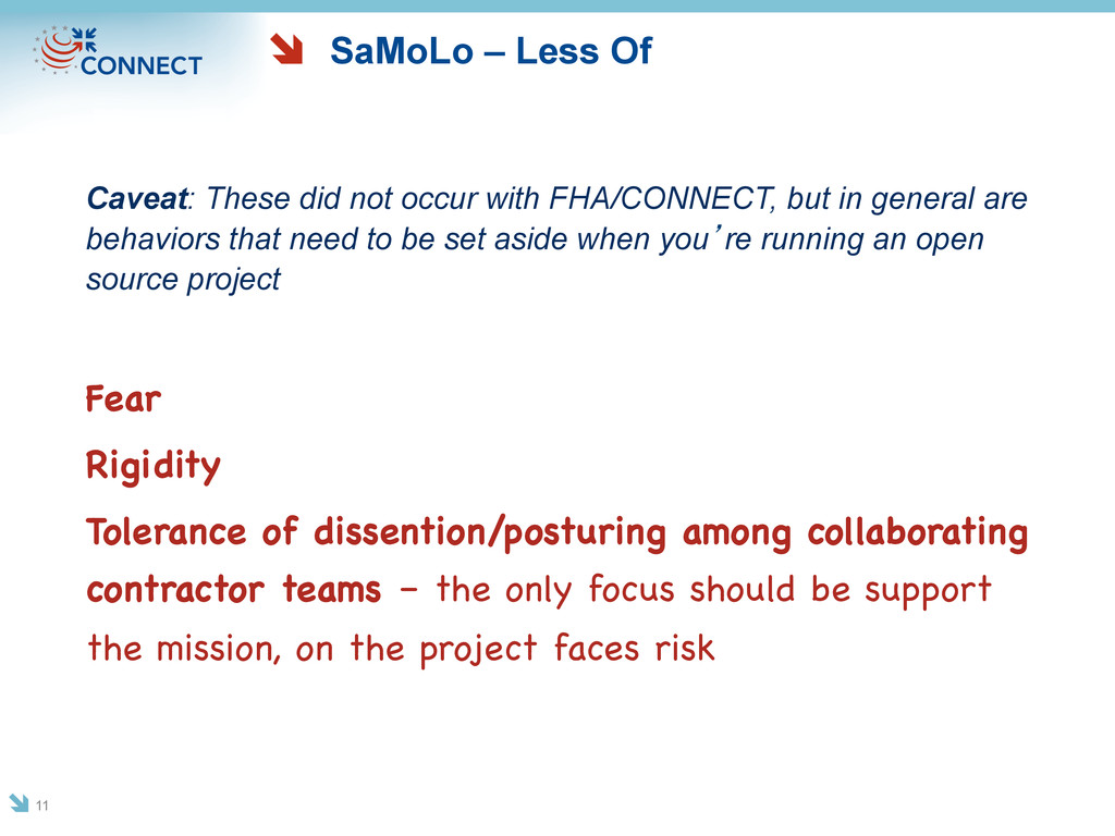 SaMoLo – Less Of Caveat: These did not occur wi...