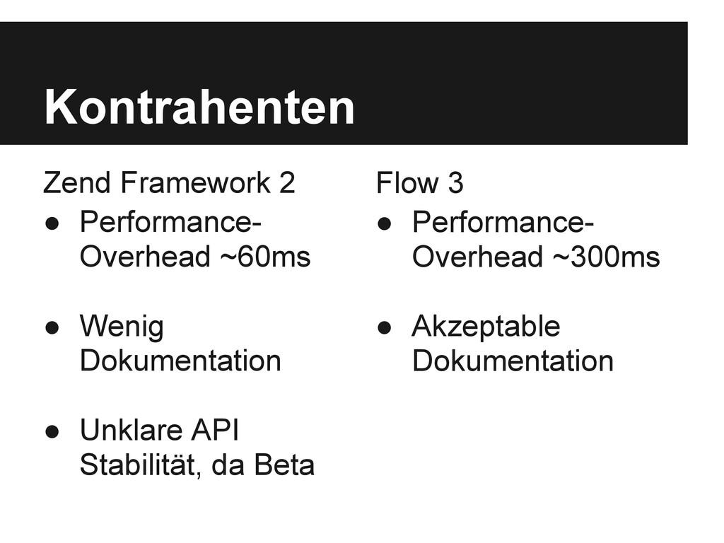 Zend Framework 2 ● Performance- Overhead ~60ms ...
