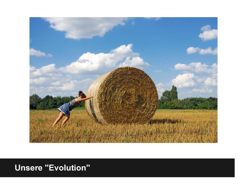 """Unsere """"Evolution"""""""