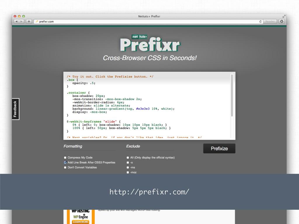 http://prefixr.com/