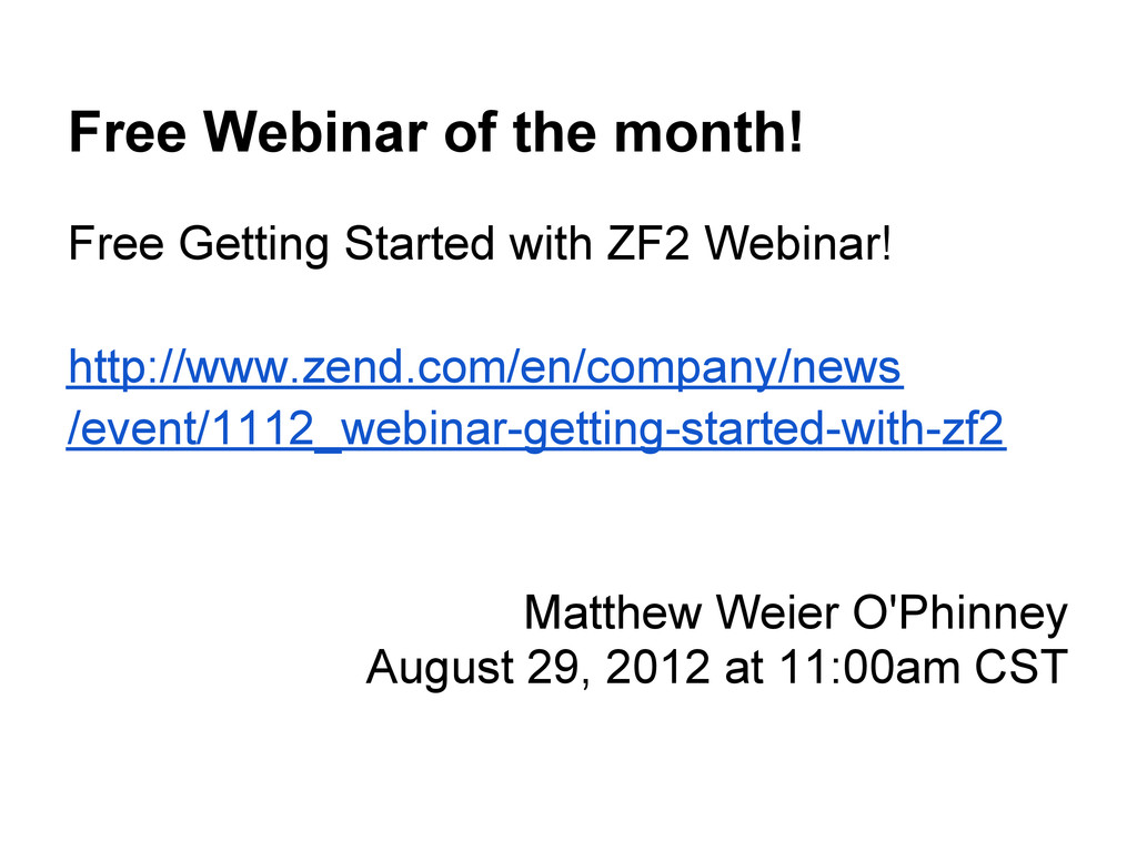 Free Webinar of the month! Free Getting Started...