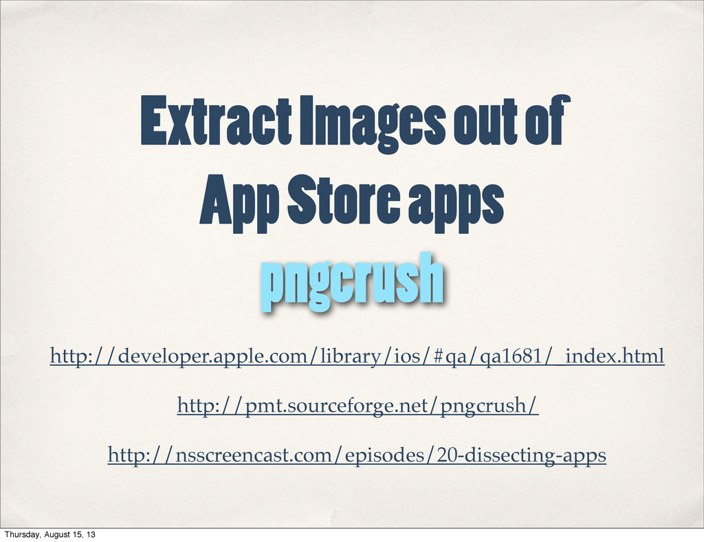 Extract Images out of App Store apps http://dev...