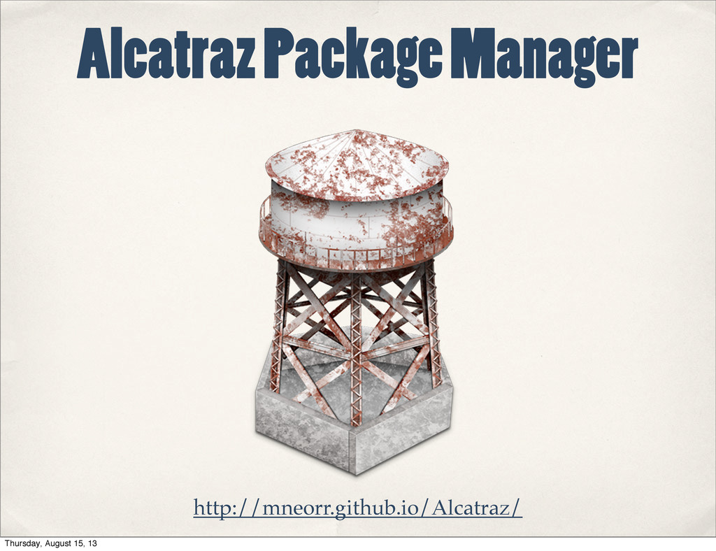 Alcatraz Package Manager http://mneorr.github.i...