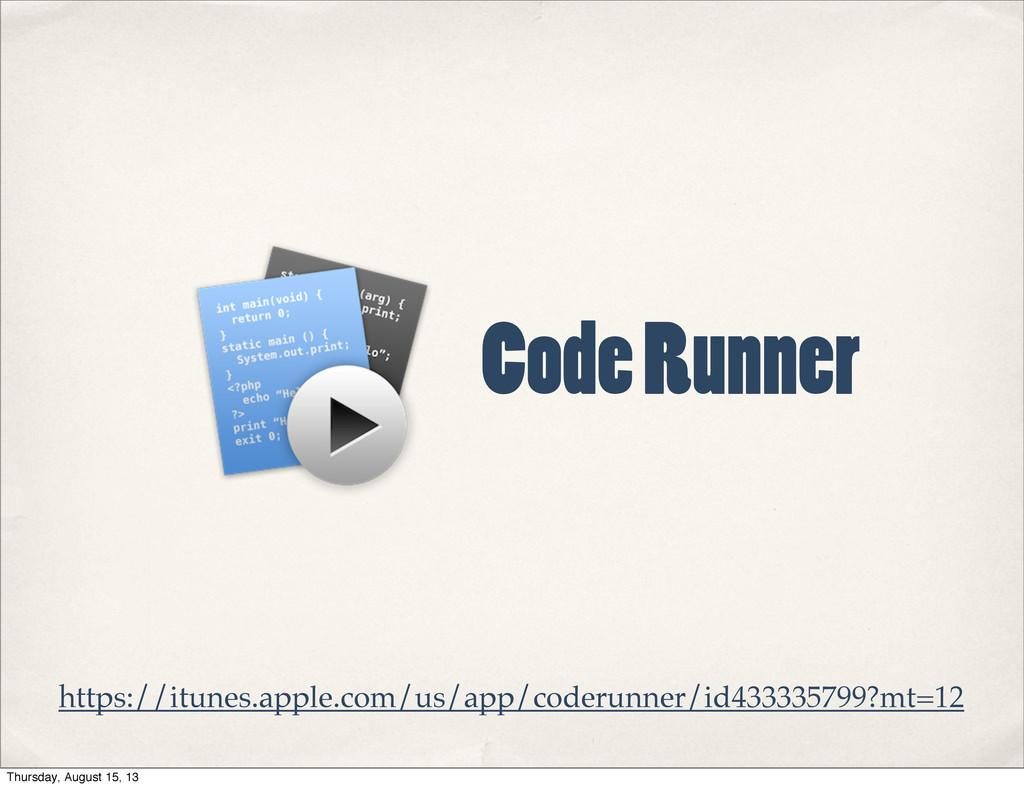 https://itunes.apple.com/us/app/coderunner/id43...