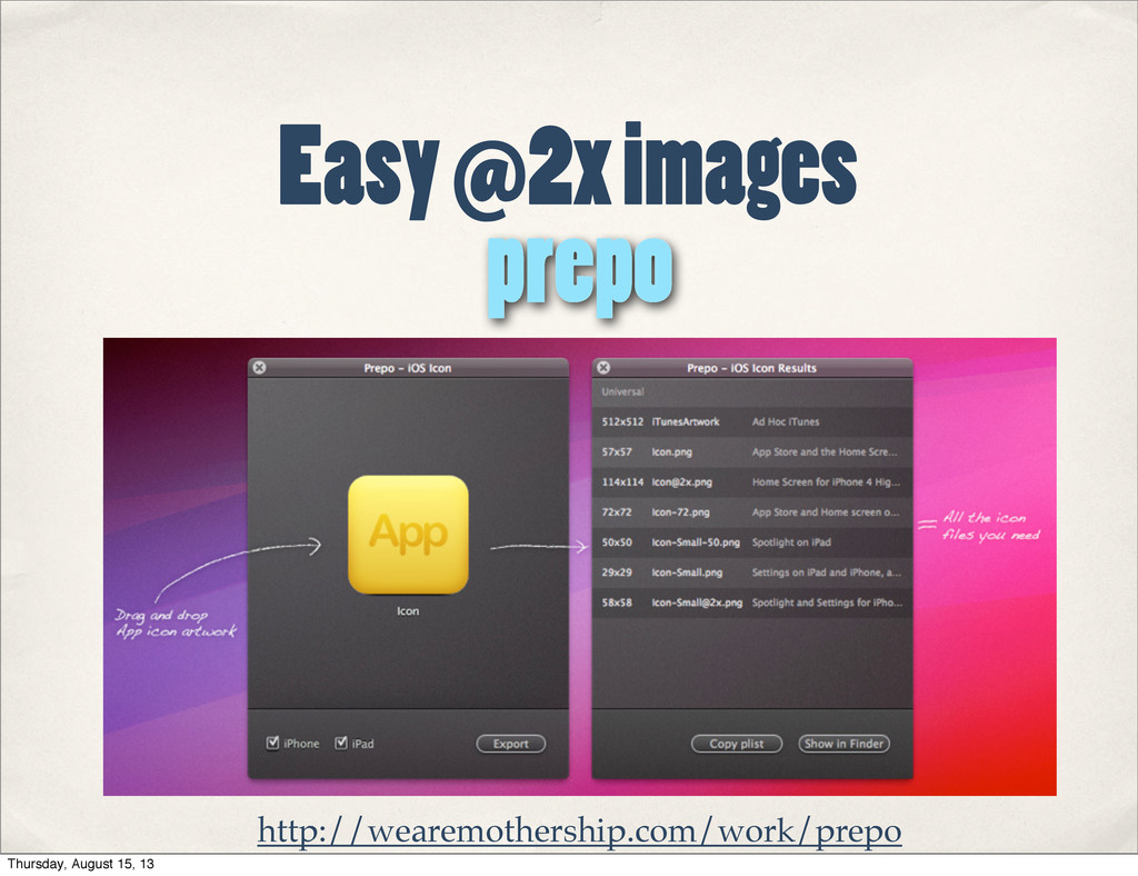 Easy @2x images prepo http://wearemothership.co...