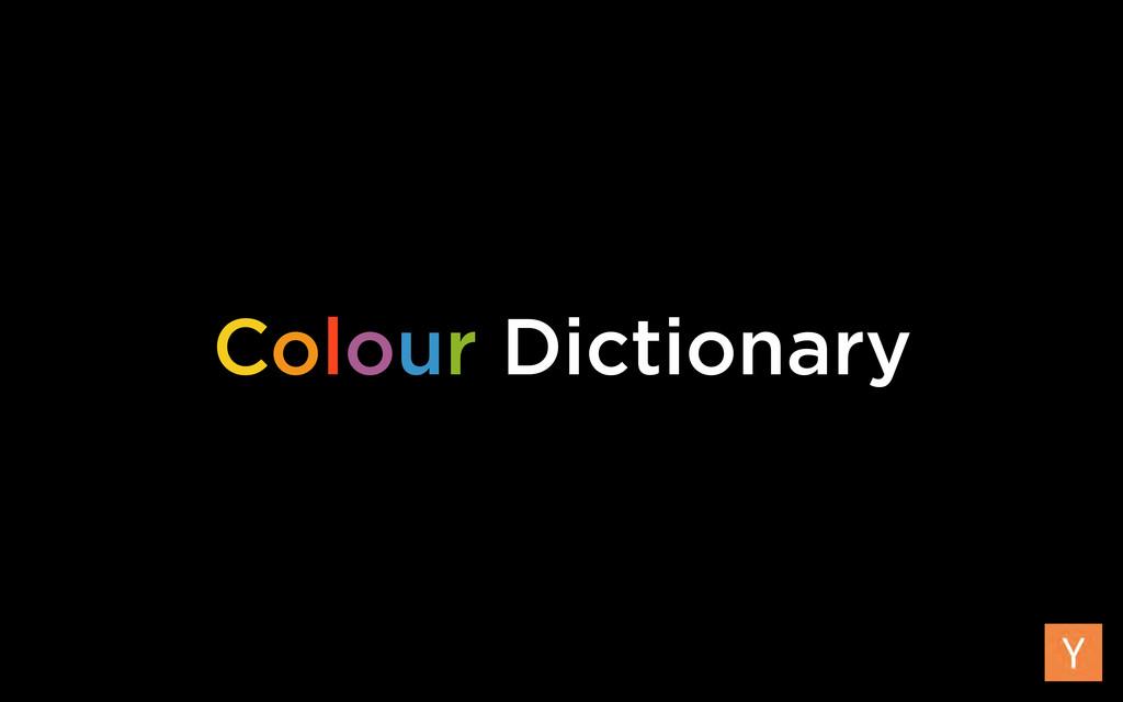 Colour Dictionary