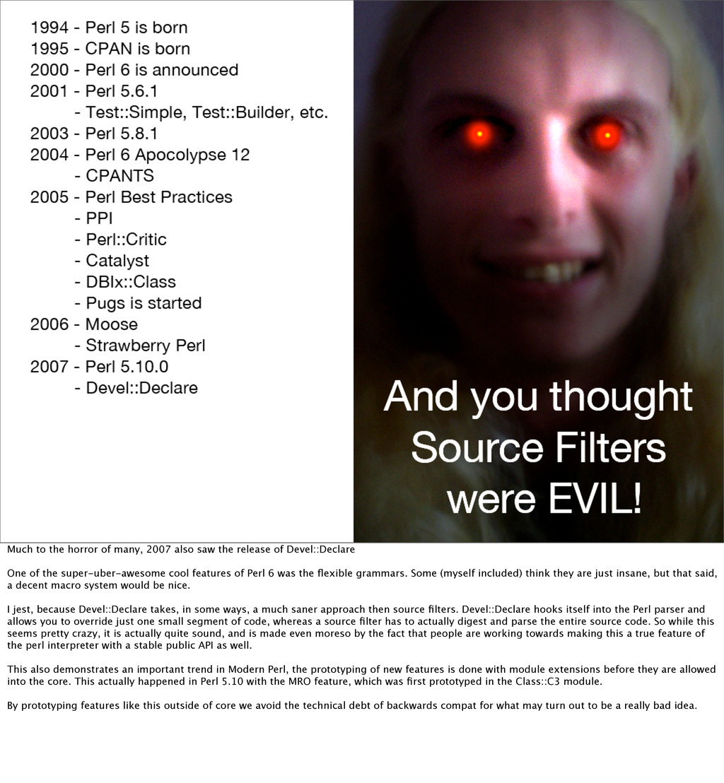 Much to the horror of many, 2007 also saw the r...