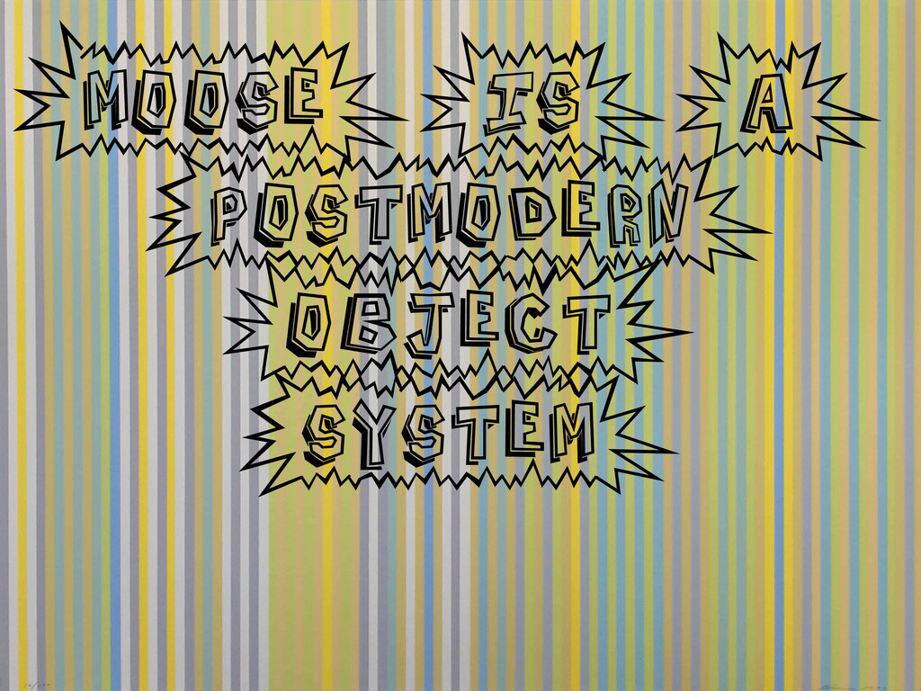 (Moose)(is)(a) [postmodern) (object] [system)