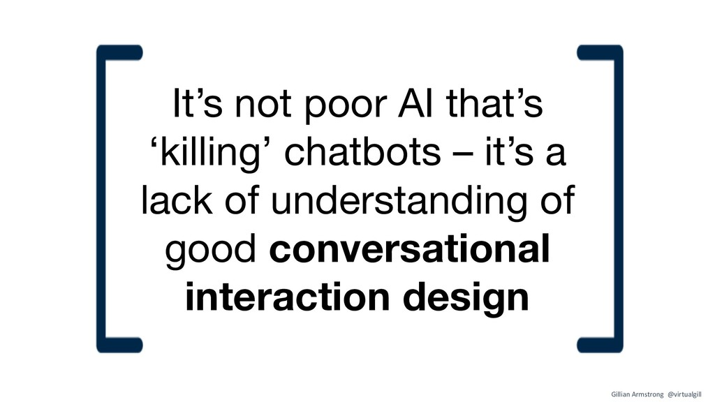 It's not poor AI that's 'killing' chatbots – it...