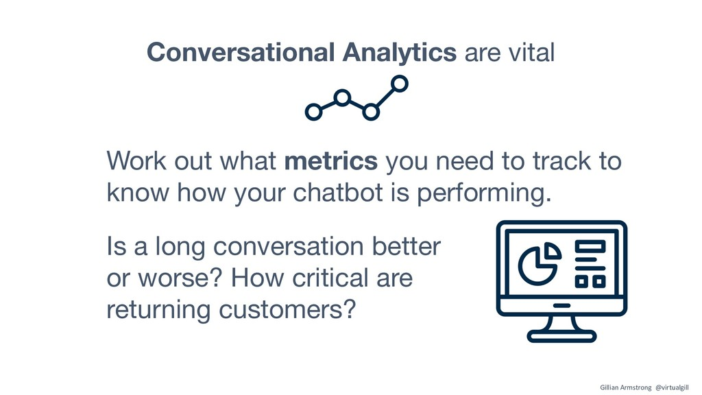 Conversational Analytics are vital Is a long co...