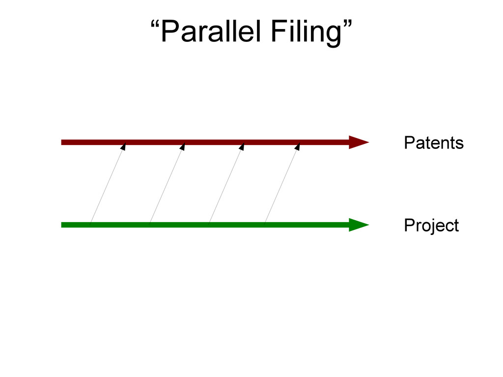 """Project Patents """"Parallel Filing"""""""