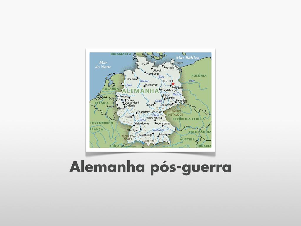Alemanha pós-guerra