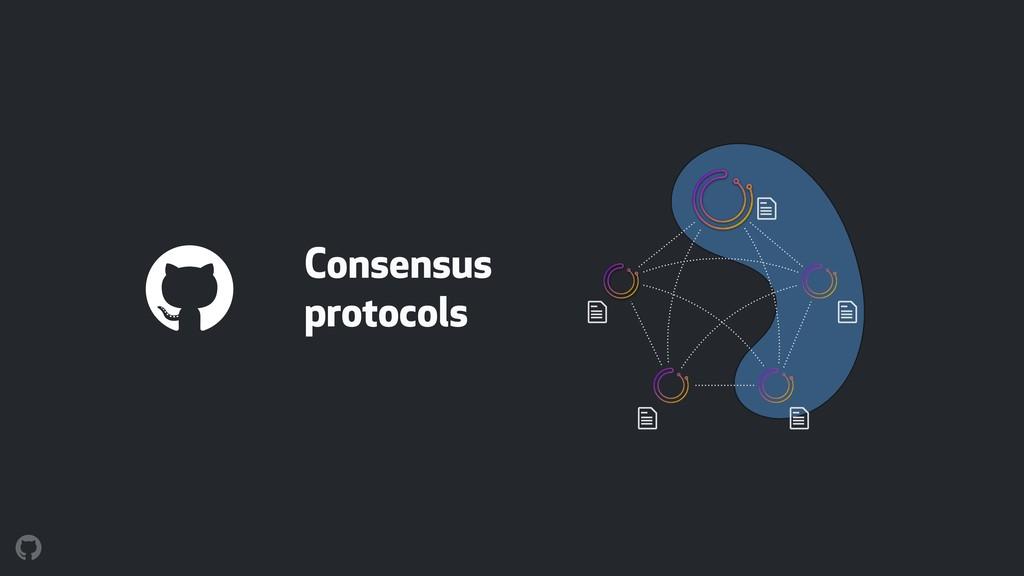 $ $ $ $ $ Consensus protocols