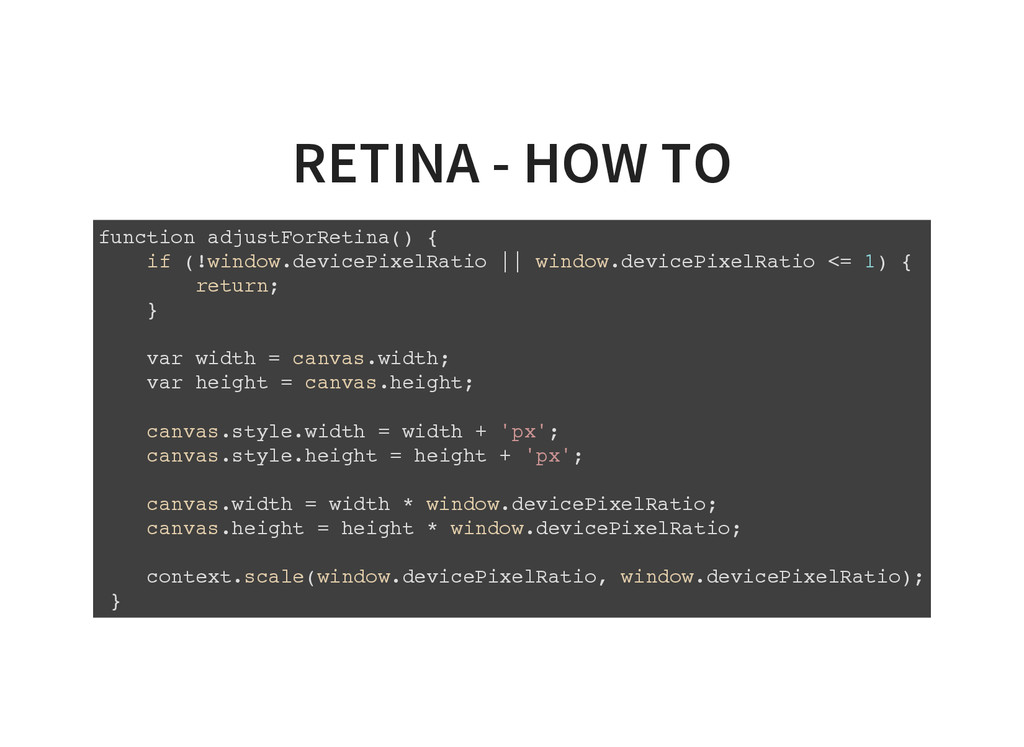 RETINA - HOW TO f u n c t i o n a d j u s t F o...