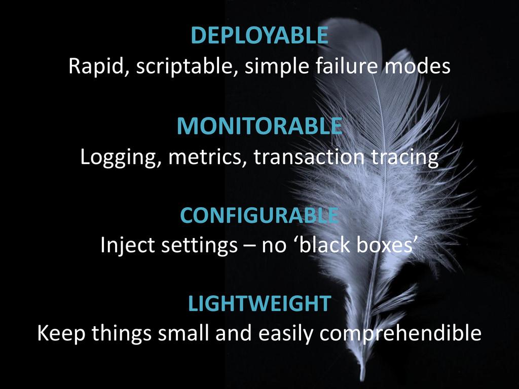 DEPLOYABLE Rapid, scriptable, simple failure mo...