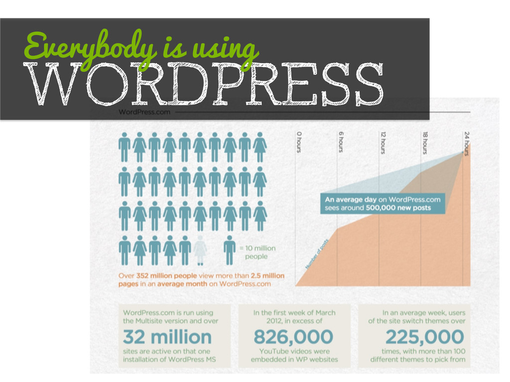 WORDPRESS Everybody is using