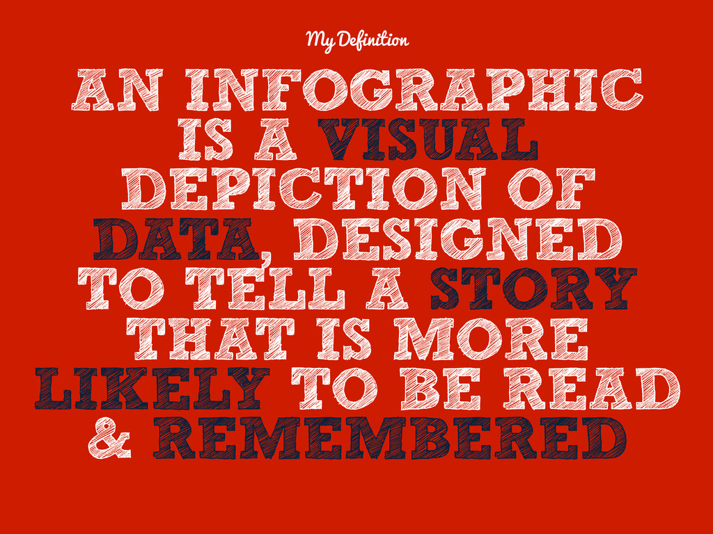 AN INFOGRAPHIC IS A VISUAL DEPICTION OF DATA, D...