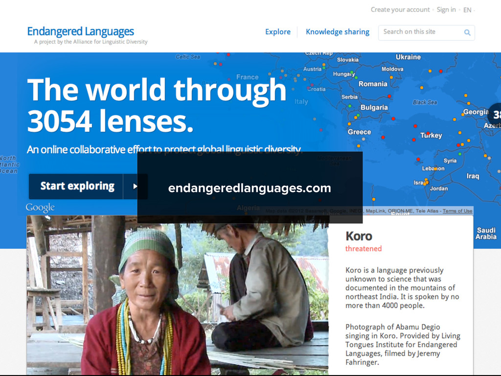 endangeredlanguages.com