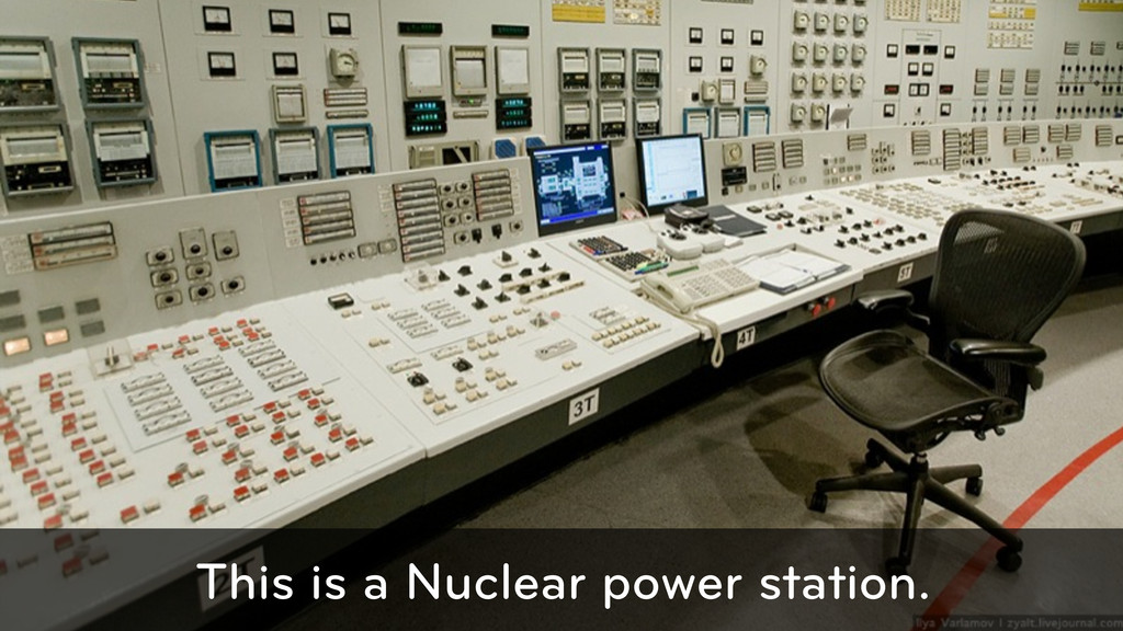 This is a Nuclear power station.