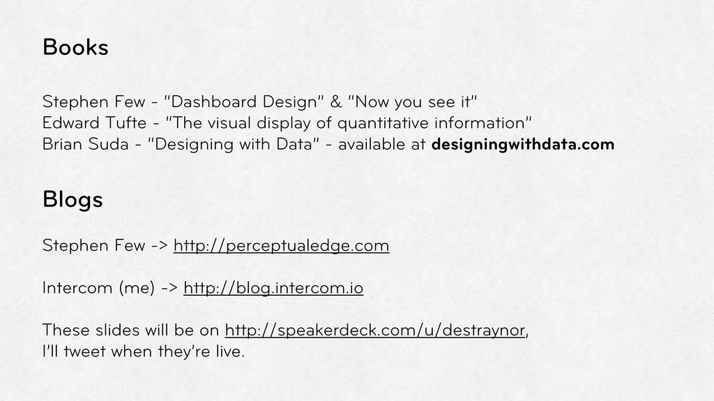 """Books Stephen Few - """"Dashboard Design"""" & """"Now y..."""