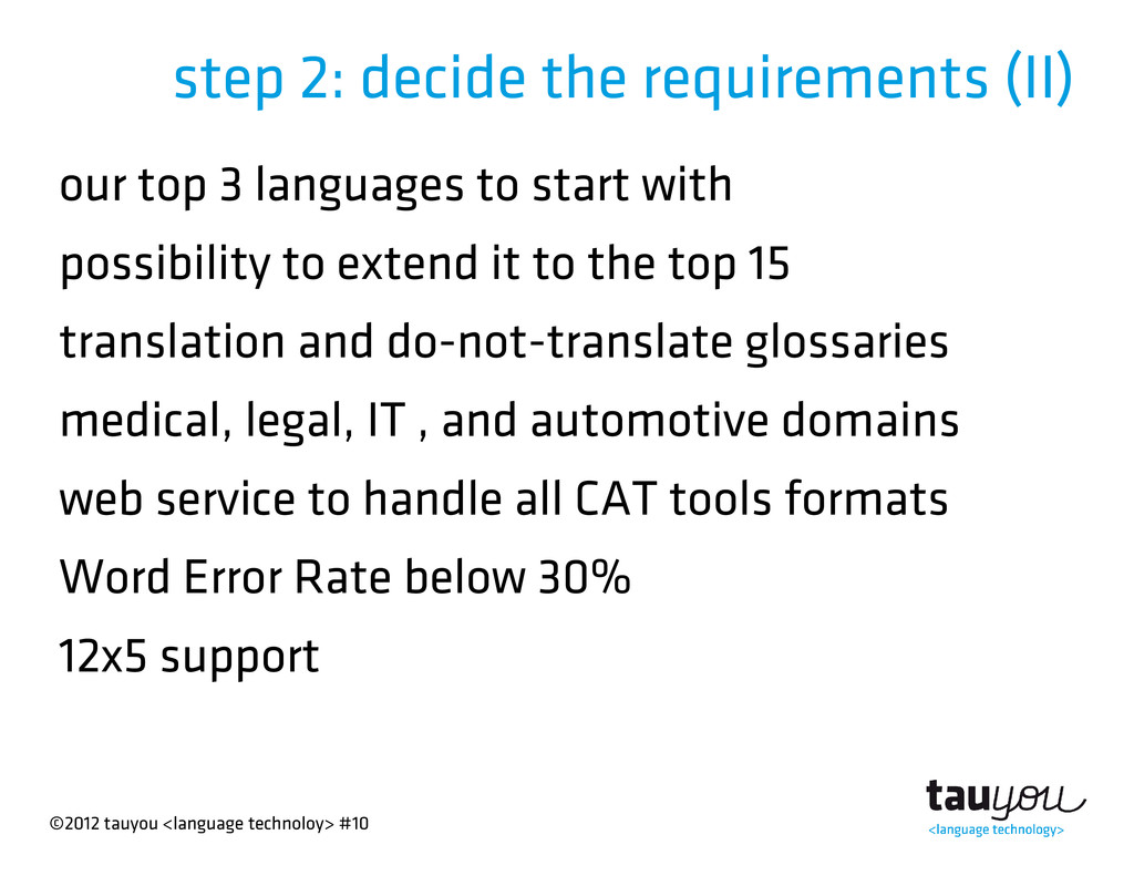 ©2012 tauyou <language technoloy> #10 step 2: d...