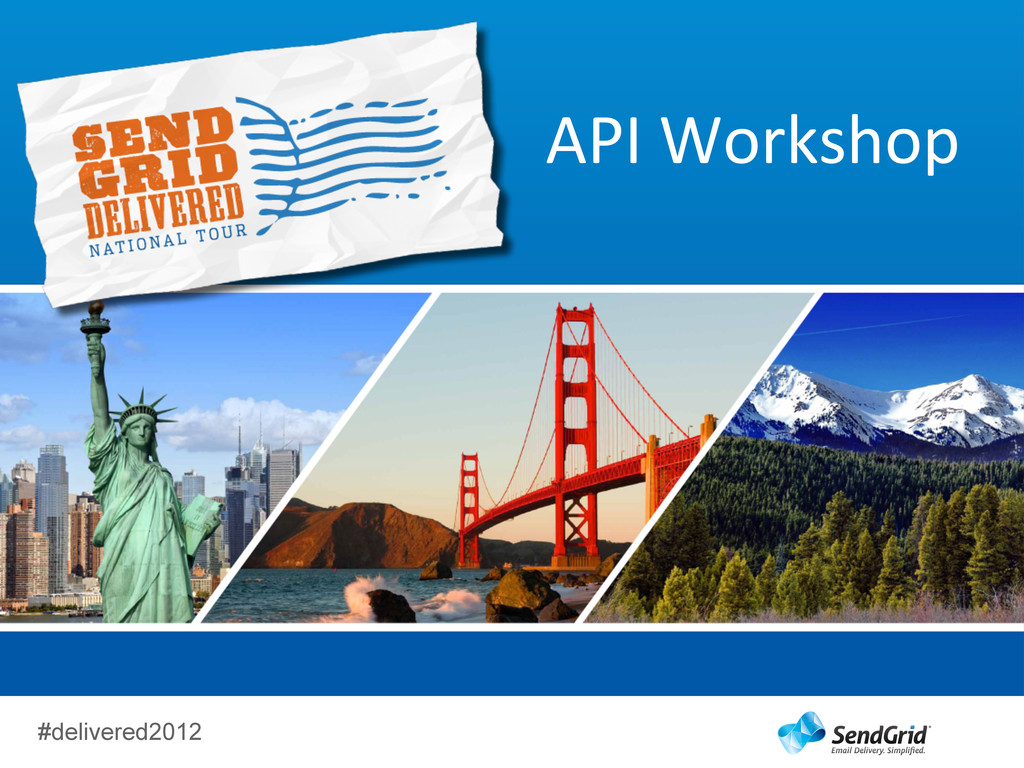 #delivered2012 API	