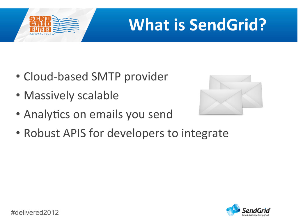 #delivered2012 What	