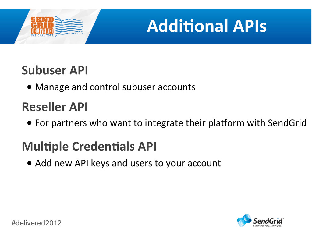 #delivered2012 AddiGonal	