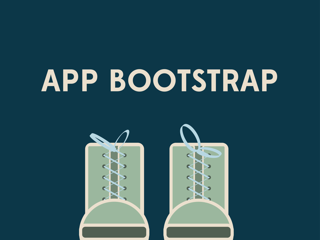 APP BOOTSTRAP
