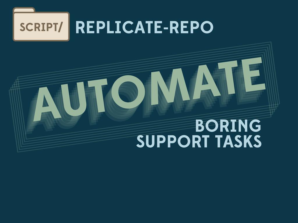 REPLICATE-REPO SCRIPT/ AUTOMATE AUTOMATE AUTOMA...