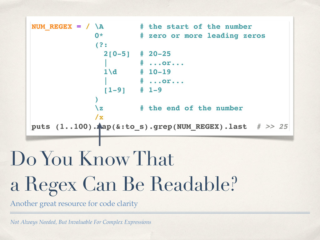 Not Always Needed, But Invaluable For Complex E...