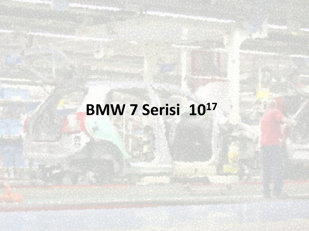 BMW 7 Serisi 1017