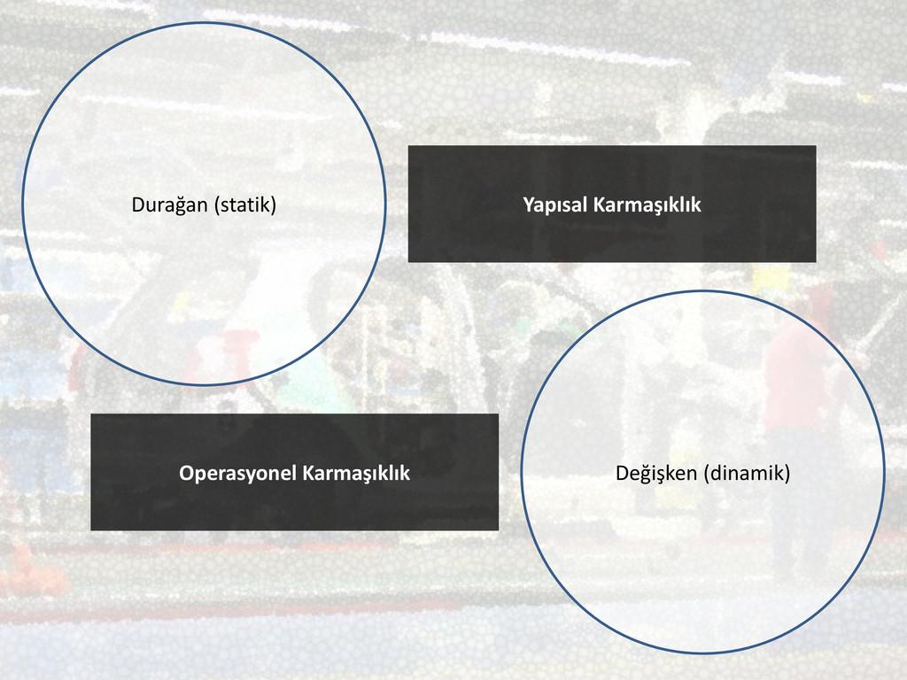 Durağan (statik) Yapısal Karmaşıklık Operasyone...