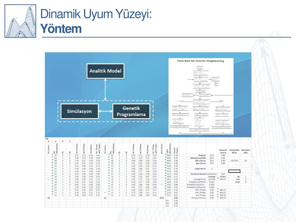 Dinamik Uyum Yüzeyi: Yöntem