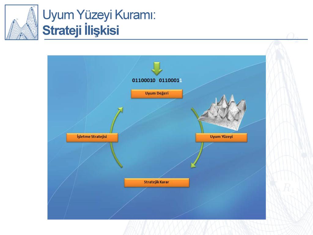 Uyum Yüzeyi Kuramı: Strateji İlişkisi