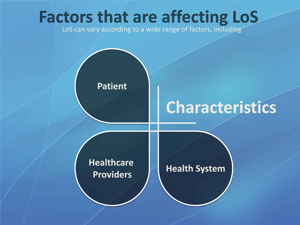 LoS can vary according to a wide range of facto...