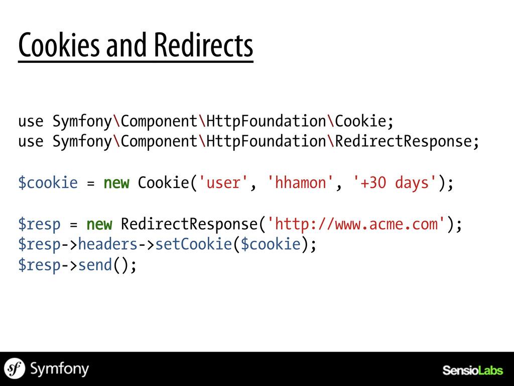 use Symfony\Component\HttpFoundation\Cookie; us...