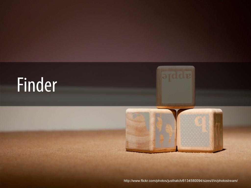 Finder http://www.flickr.com/photos/justhatch/6...