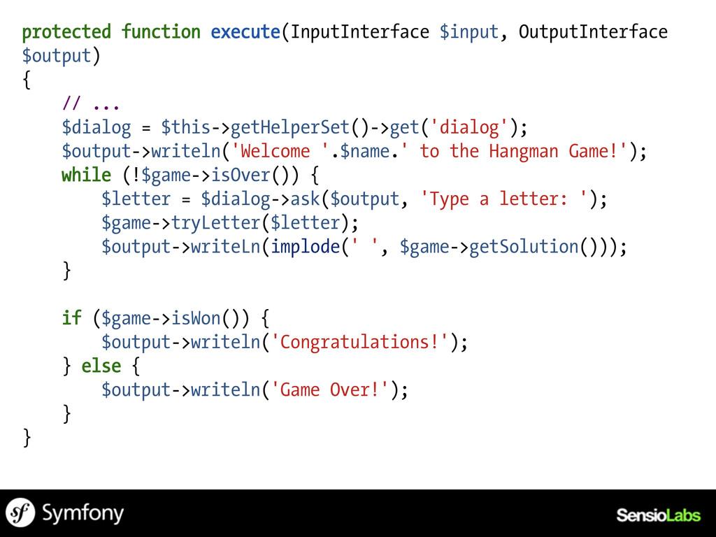 protected function execute(InputInterface $inpu...