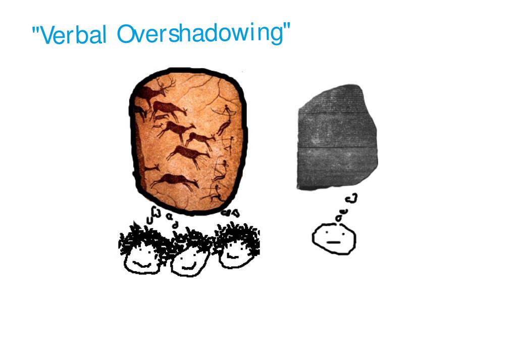 """""""Verbal Overshadowing"""""""